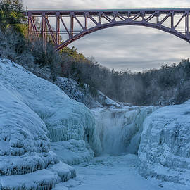 Letchworth Upper Falls by Mike Griffiths