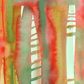 Levitation - Abstract Watercolor by Susan Porter