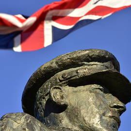 Lieutenant Colonel Robert Blair Mayne DSO Three Bars Statue  by Neil R Finlay