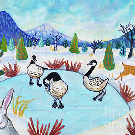 Life on the Frozen Pond by Harriet Peck Taylor