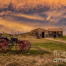 Life On The Prairie  by Mitch Shindelbower
