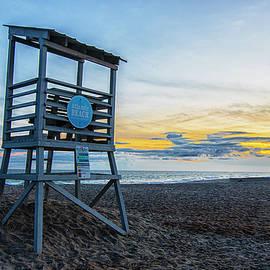Lifeguard Stand - Atlantic Beach North Carolina by Bob Decker