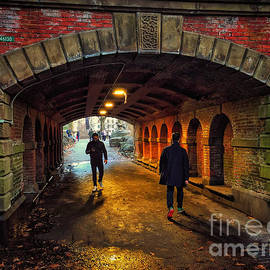 Light at the End of the Tunnel by Miriam Danar