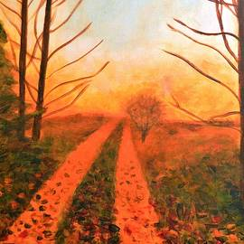 Light Fading In The Sunset by Marla McPherson