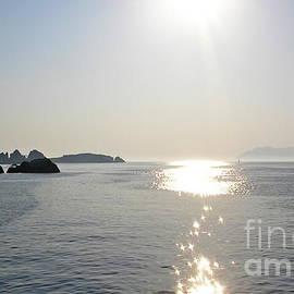 Light on the sea, Milos by Paul Boizot