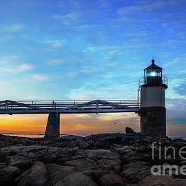 Lighthouse at Marshall Point, Maine by Diane Diederich