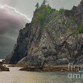 Lightning Alaska Dramatic Landscape USA by Chuck Kuhn