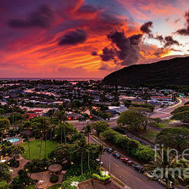 Like a Warm Blanket over Hawaii Kai by Phillip Espinasse