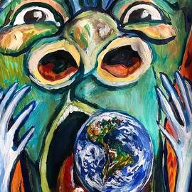Scream like Edvard Munch but also  also Rejoice with 128,555 recovered COVID-19 Hope by Susan Brown    Slizys art signature name