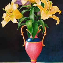 Lilies by Vladimir Frolov