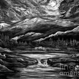 Lily Pond Gunnison Colorado BNW by Cheryl Pettigrew