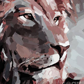 Lion face 989z by Gull G