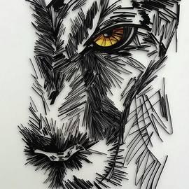 Lion Face Portrait  by Priyanka Sagar