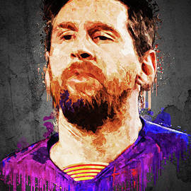 Lionel Messi  by Gunawan RB