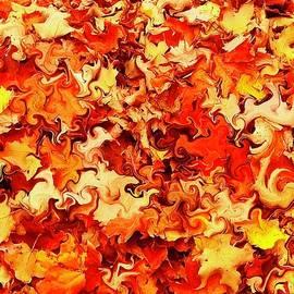 Liquid Leaves by Eileen Backman