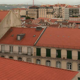 LISBON roofs by Clive Beake
