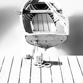Little Boat, Lake Annecy, France by Imi Koetz