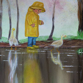 Little Boys and Puddles by Deborah Klubertanz