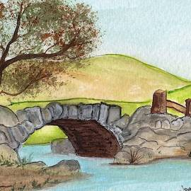 Little Bridge by James Michael Johnson