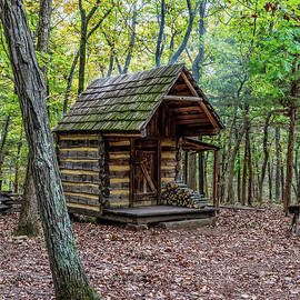 Little Cabin In The Woods by Jennifer White