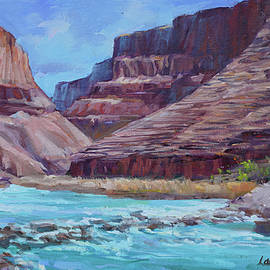 Little Colorado River, Turquoise Water by Laurie Snow Hein