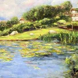Little Lily Pond by Anne Barberi