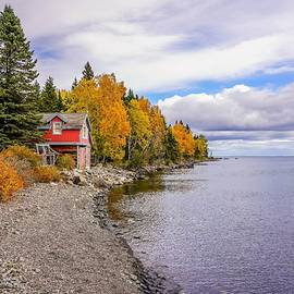 Little Red Cottage by Susan Rydberg