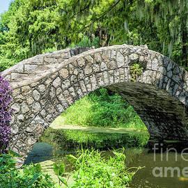 Little Stone Bridge, NOLA by Kathleen K Parker
