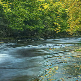 Little Wolf River Early Fall by Trey Foerster