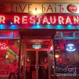 Live Bait Bar and Restaurant - Disappearing Places of New York by Miriam Danar