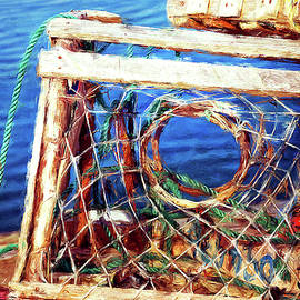Lobster traps in Newfoundland by Tatiana Travelways