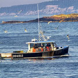 Lobsterboat Resurrection by Marty Saccone