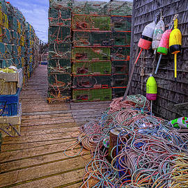 Lobstering Paraphernalia by Marty Saccone