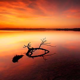 Loch Leven Sunset - Perthshire by Grant Glendinning
