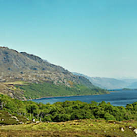 Loch Maree Panorama by Robert Murray