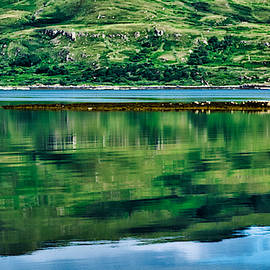 Loch Na Keal Reflections #2 - Scotland by Stuart Litoff