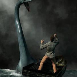 Loch Ness Monster by Daniel Eskridge