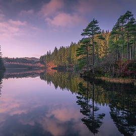 Lochan ghleannain  by Daniel Letford