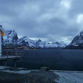 Lofoten Moltind Mountain by Norma Brandsberg