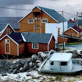 Lofoten Rorbu Cabins by Norma Brandsberg