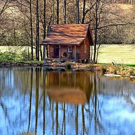 Log Cabin 020 by George Bostian