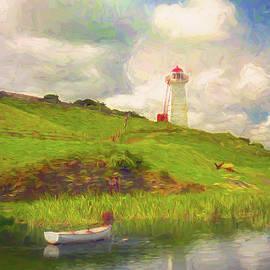 Logans Bay Light by Jerry Griffin
