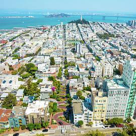 Lombard Street San Francisco by Josh Fuhrman