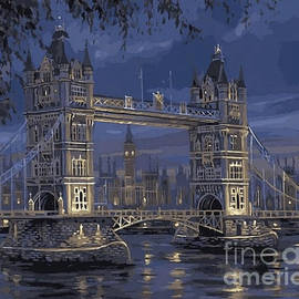 London Bridge by Kim McCaffrey