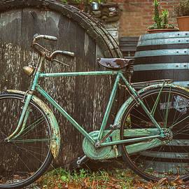 Lone bike by Zina Zinchik