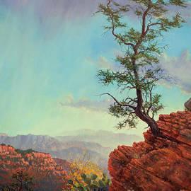 Lone Tree Struggle by Robert Corsetti