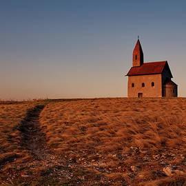 Lonely church by Ren Kuljovska