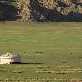 Lonely Yurt in Mongolia by Martin Vorel Minimalist Photography