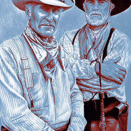 Lonesome Dove pop art by Andrew Read