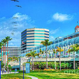 Long Beach Convention Center by David Zanzinger